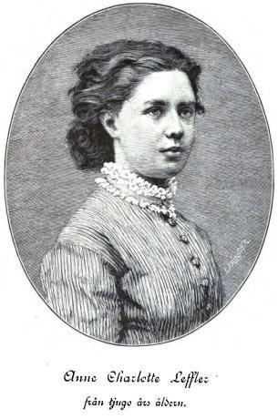 Anne Charlotte Leffler<bfrån tjugo års åldern.