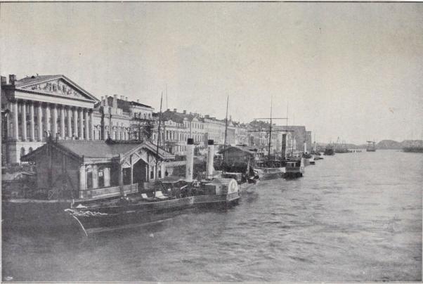 Newa, sedd från Nikolaibron.