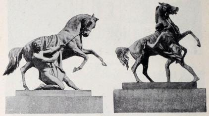 Hästarna vid Anitschkowbron.