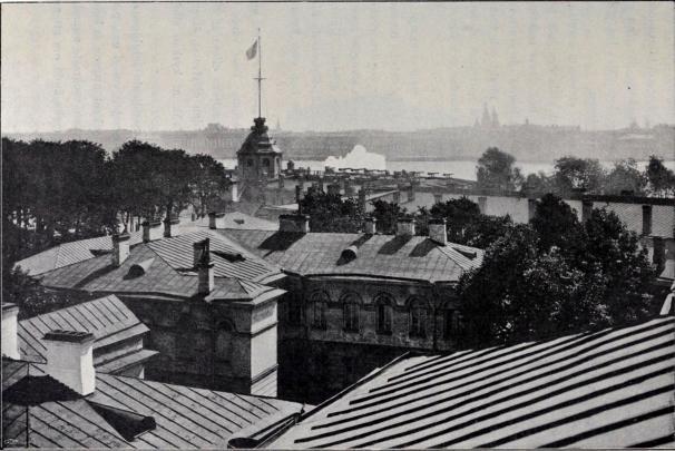 Peter-Pauls fästningens inre.