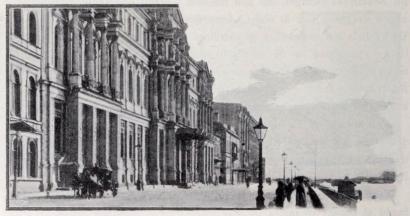 Storfurst Michaels palats vid Dworzowaja Nabereshnaja.