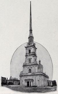 Peter-Paulskatedralen.