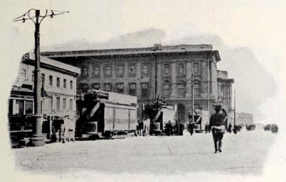 Wassiljewskij Osstrows hästspårvagnar.