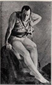 Tschaljapin som Mefisto, nöjenas konung.