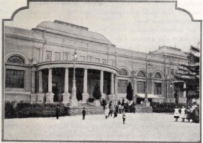 Narodni doms trädgård.