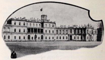 Palatset i Gatschina.