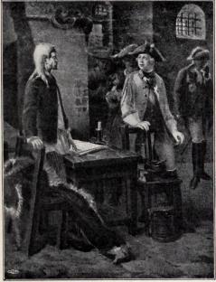 Peter III besöker den fångne Iwan VI.