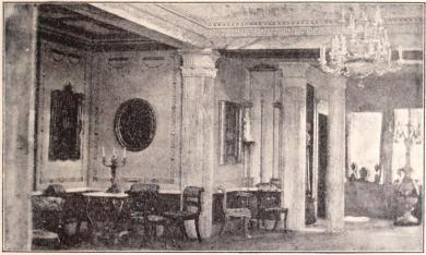 Interiör i Byströms villa. II.