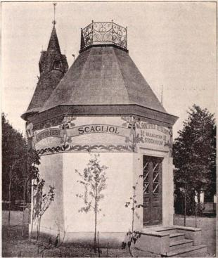 Scagliols paviljong (se sid. 138).