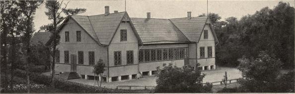 Folkets Hus, Bjuf.<b<smalFoto Björkgren, Billesholms grufva.</smal