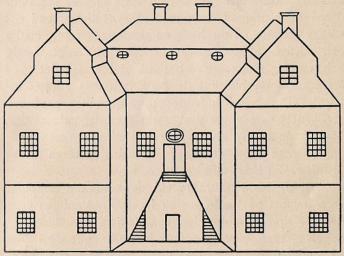 Vindö.<bEfter en ritning av grevinnan Adelaide Lewenhanpt f. Bparre.