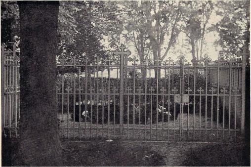 Emil och Sophie Keys grav i Västervik.