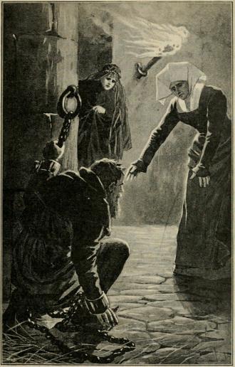 <smalIll. J. N.[=Jenny Nyström]</smal<b»Erik, Erik», utropade hon och utsträckte sina armar mot den fångne<bjätten. (Sid. 356.)