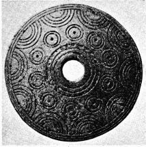 Fig. 2. Sländtrissa af horn.<bJordfynd från Arboga. N. M. 113,994.