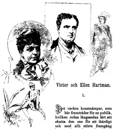<smalIll. V.A.[=Vicke Andrén]</smal<b<bi<biVictor och Ellen Hartman.</bi</bi