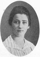 Karin Elisabet Lundkvist<b<smalfrån Mantorp, Östergötland, född den 24 mars 1902; frälst den 17 mars 1918. »Kristus min klippa».</smal