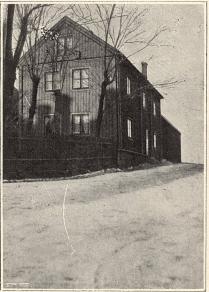 Gammalt hus vid Klippan