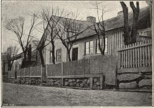 Hus vid Slottsskogsgatan