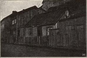 Kåkar vid Slottsskogsgatan