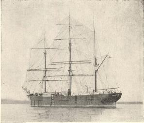 Göteborgsskeppet Albatros<b(tillhörigt Olsonska rederiet; nu förlist)