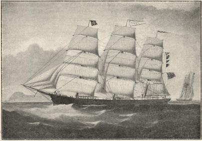 Göteborgsskeppet Solide<b(på sin tid tillhörigt rederifirman Th. Ahrenberg)