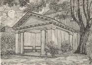 Lusthus i Majvikens trädgård