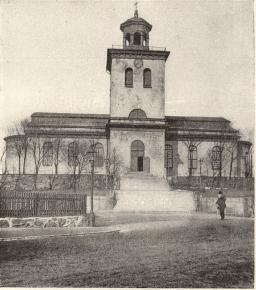 Karl Johans kyrka<b(före ombyggnaden år 1900)