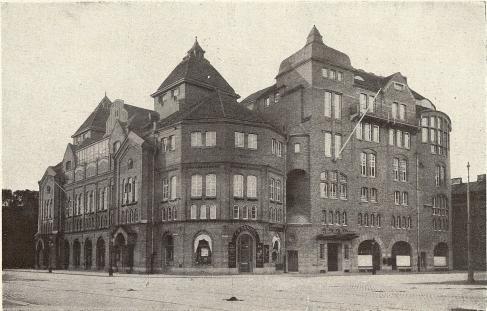 Arbetareföreningens nuvarande byggnad