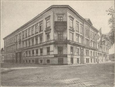 Östra Pustervikskvarteret<b(hörnet av Norra Allégatan)