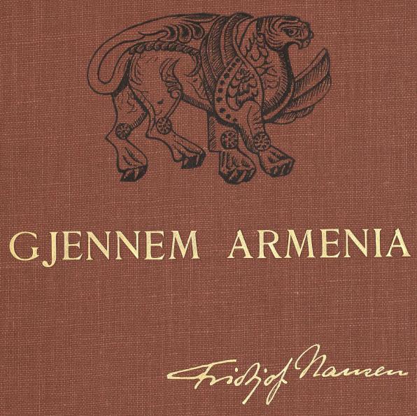 <bi<biGJENNEM ARMENIA</bi</bi<bFridtjof Nansen