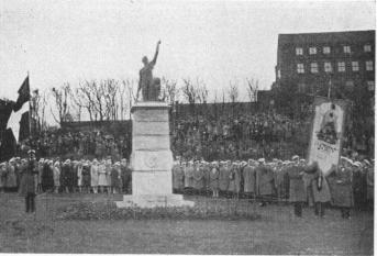 A statue in memory of Viktor Rydberg was unveiled on 1st May 1930 (close to the commercial School)