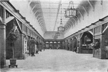 The large Hall of the Central Railway Station
