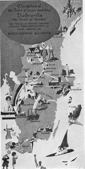 "<biVermland</bi the ""Land of saga and song""<b<biDalecarlia</bi the ""Heart of Sweden""<b<smal<span class="