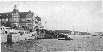 »Vikingsborg», Långedrag