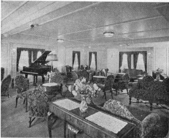 T/S »Britannia's» Lounge