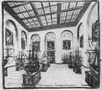 Interior of one of the rooms.