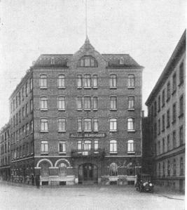 Hotel Hembygden also belonging to the Swedish American Line