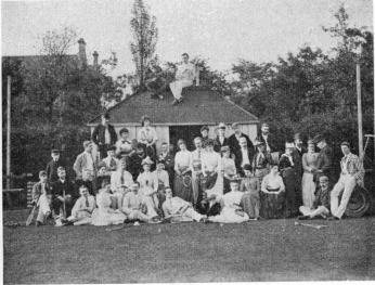 West End Tennis Club, Newcastle-on-Tyne, for which<bW. J. Dawson acted as Hon. Secty. during 1899/1901