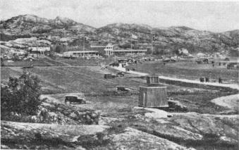 Aerodrome at Torslanda near G'burg