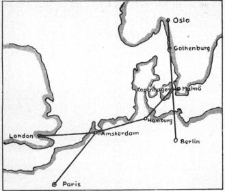 Gothenburg Air Port Co. Gothenburg Cables: Flyghamnen. Tel.: 74060, 74061