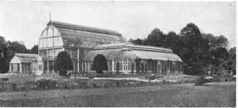 Conservatory and Palm House, Trädgårdsförening