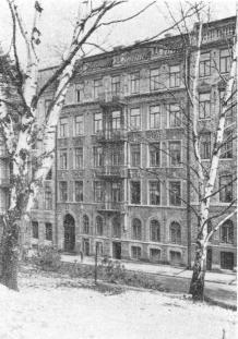Götabergsgatan 26 The top flat with balcony Head Quarters of Dawson's Guide Bureau,