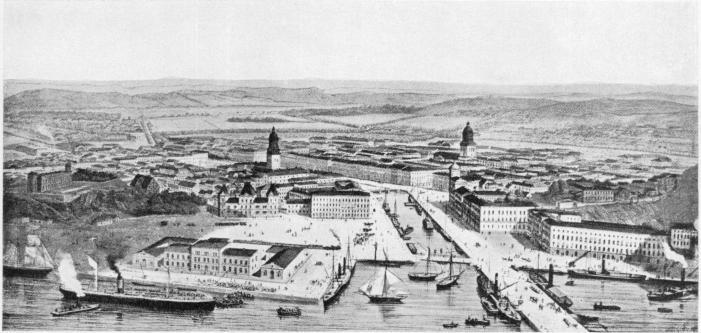Göteborgsbild från början av 1870-talet