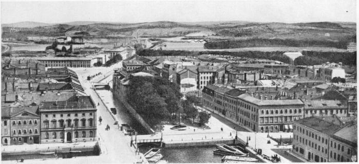 Brunnsparken på 1880-talet