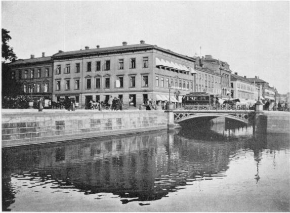 Brunnsparken i slutet av 1890-talet