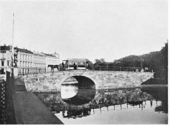Kungsportsbron i slutet av 1890-talet