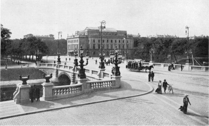 Kungsportsbron i början av 1900-talet