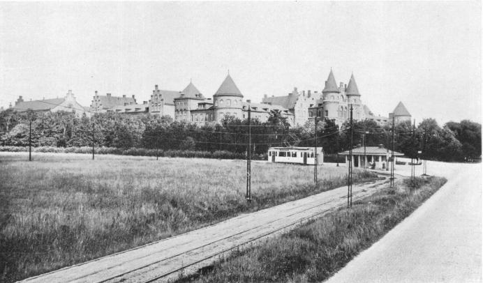 Kvibergslinjens ändstation vid Kviberg