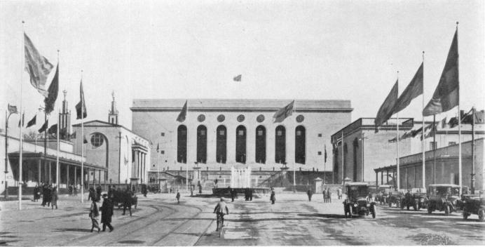 Bild från Götaplatsen 1923