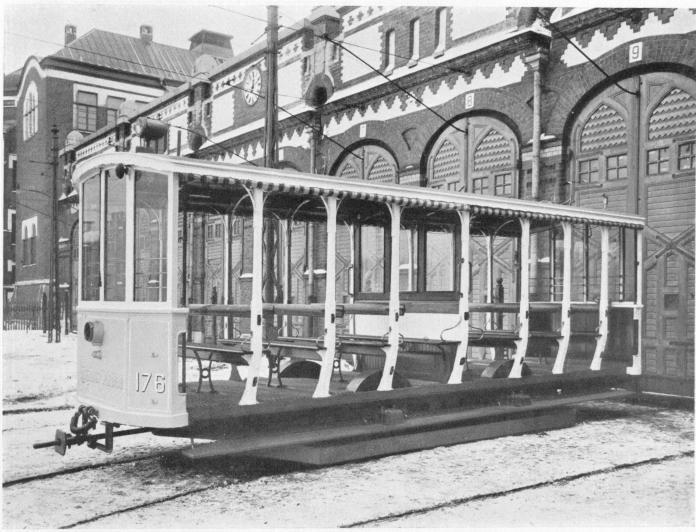 Öppen släpvagn 1906
